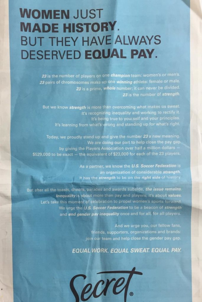 Parents As Equal Participants In Team >> Gillette Parent P G Steps Up Advertising Game On Equal Pay